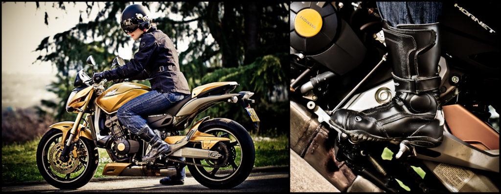 Week 4 :: Bibi's Motorbike Boot