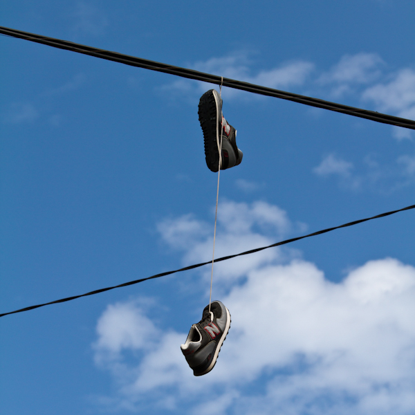 Week 17 :: Shoes Tossing